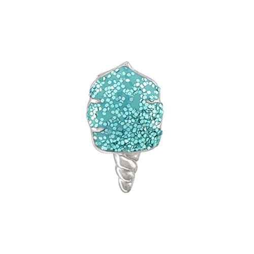 CH3169 Aqua Cotton Candy Charm 1 copy